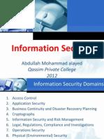 Information Security Abdullah