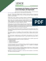 Papel do Gerenciamento de Projetos no Sucesso do Planejamento Estratégico