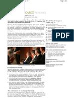 World Retail Congress 2009 Top 10 Themes
