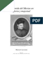 La Venida Del Mesias en Gloria y Majestad-P. Manuel Lacunza (Tomo I-II)