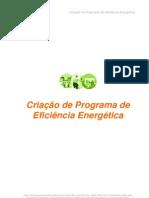 Criação de Programa de Eficiência Energética