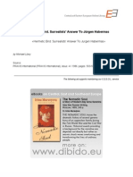 4.9 - Löwy, Michael - Hermetic Bird. Surrealists' Answer To Jürgen Habermas - Walter Benjamin (EN)