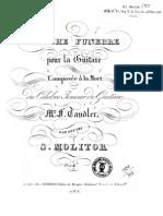 MOLITOR - Marche Funebre (Guitar - Chitarra)
