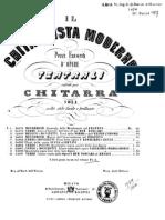 Il Chitarrista Moderno - Pezzi Favoriti d'Opere Teatrali - (Ed Ricordi 1924) (Guitar - Chitarra)