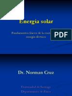 Presentacion Energía Solar  Electrica - Prof. Norman Cruz