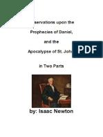 Observações das profecias de Daniel e Apocalipse
