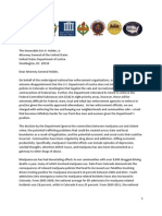 National Law Enforcement Letter to Attorney General Eric Holder Over Marijuana in Colorado and Washington