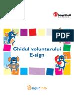 Ghidul Voluntarului E-Sign