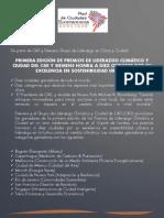 Premio Mundial de Liderazgo Climático y Ciudad otorgado a Bogotá_Comunicado Oficial C40