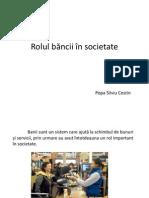 Rolul Bancii in Societate