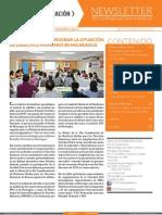 ICCO Centroamerica Newsletter Agosto 2013