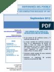 Reporte Mensual de Conflictos Sociales N 103 Sep 2012