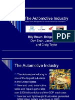 The Automotive Industry Presentation