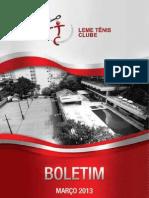 Informativo Leme Tênis Clube - Março 2013