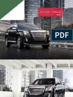 2013 GMC Terrain Brochure