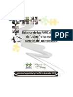 Balance de Las FARC Despues de Jojoy y Los Nuevos Carteles Del Narcotrafico - Informe Seguridad y Conflicto Armado 2010