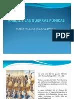 Unidad 5 Anibal y las Guerras Púnicas - María Paulina Vásquez