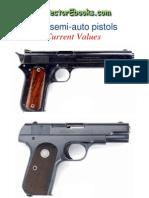 Vintage Colt Semi-Auto Pistols Current Value
