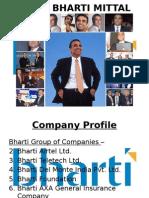 BHARTI AIRTEL (Organisational Development Project @ IIPM)