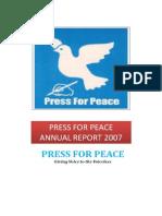 PFP Annual Report 2007