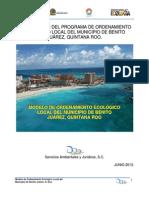 Programa de Urbanizacion Cancun