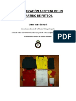 La Planificacion Arbitral de Un Partido de Futbol (Utrera Del Moral)