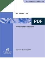 RP_124 Pressurized Enclosure