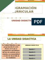 UNIDADES DIDACTICAS SECUNDARIA