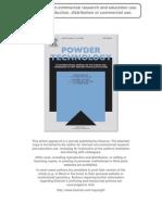 Redemann Et Al PowderTechnol 2009