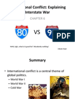 Inter-state conflict