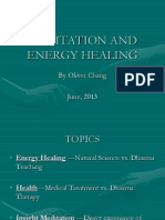 Meditation and Energy Healing