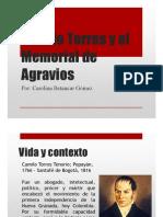 Unidad 3 Camilo Torres y El Memorial de Agravios - Carolina Betancur