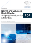 Norms and Values in Digital Media