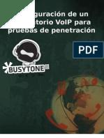 VoIP Pentest Lab BusyTone