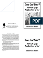 Does god exist - Sébastien Faure