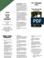 Tom's Election Brouchure - GF Final Draft