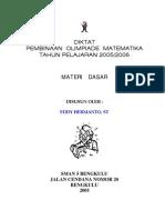 Diktat Pembinaan Olimpiade Matematika