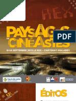programme festival cine Paysages de Cinéastes