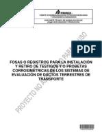 PROY-NRF-292-24-AGO-12 Registros para instal y retiro de testigos y_o probetas corrosimétricas de los sist de eval de ductos terr de transp.
