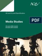 Media Studies at AQA