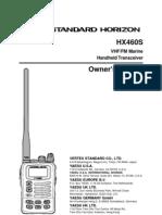 Vertex VHF Marine HX460S