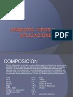 Cemento Tipos y Aplicaciones