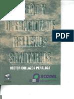 DISEÑO Y OPERACION DE RELLENOS SANITARIOS