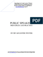 Public Speaking Free eBook Download