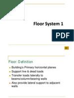 floor system.