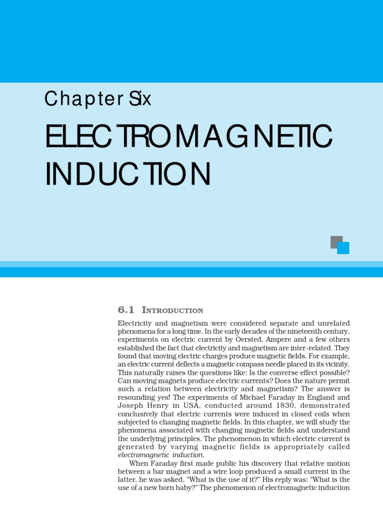 Electromagnetic Induction | Electromagnetic Induction | Inductance