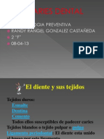CARIES DENTAL RANDY RANGEL GONZALEZ CASTAÑEDA