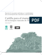 cartilla para el manejo de bosques naturales de tarapacá