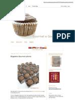Gourmet e Gourmand_ Brigadeiro