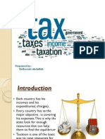 Presentation of Taxation_scribd